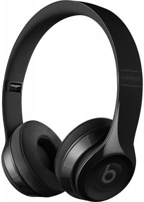 Наушники Apple Beats Solo3 On-Ear Headphones черный глянцевый MNEN2ZE/A наушники beats ep on ear headphones black ml992ze a