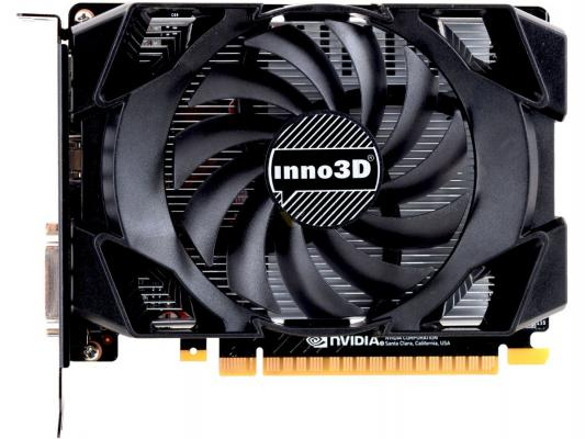 Видеокарта 4096Mb Inno3D GeForce GTX1050Ti Compact PCI-E N105T-1SDV-M5CM Retail