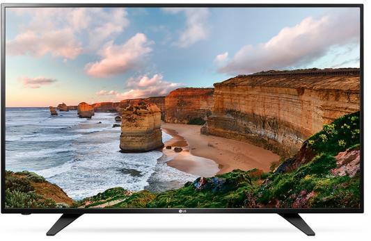 Телевизор LG 43LH500T черный