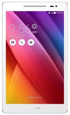 Планшет ASUS ZenPad Z380KNL-6B028A  8 LED/Qualcomm MSM8916/1GB/16GB/Android 5.0/WiFi/BT/LTE/GPS/Pearl White чехол asus для планшетов zenpad 8 pad 14 полиуретан поликарбонат белый 90xb015p bsl320