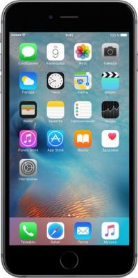 "Смартфон Apple iPhone 6S Plus серый 5.5"" 32 Гб NFC LTE Wi-Fi GPS 3G MN2V2RU/A"