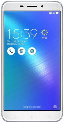 Смартфон ASUS ZenFone 3 Laser ZC551KL серебристый 5.5 32 Гб LTE Wi-Fi GPS 3G 90AZ01B4-M00060 смартфон asus zenfone 3 max zc553kl серебристый 5 5 32 гб lte wi fi gps 3g 90ax00d3 m00300