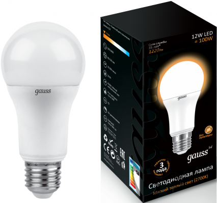 Лампочка Gauss LED Filament Candle Tailed E14 5W 4100K 104801205