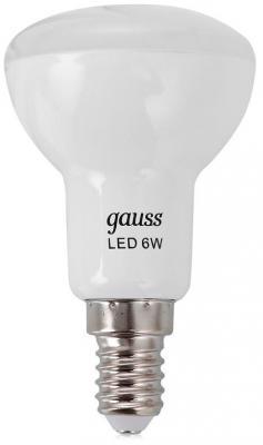 Лампа светодиодная E14 6W 2700K груша зеркальная 106001106