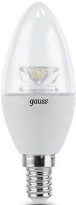 Лампа светодиодная E27 4W 4100К свеча прозрачная 103202204