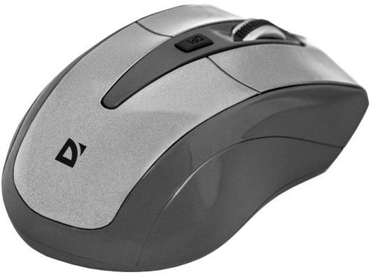 лучшая цена Мышь беспроводная Defender Accura MM-965 белый чёрный USB 52965