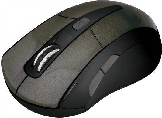 лучшая цена Мышь беспроводная Defender Accura MM-965 коричневый USB 52968