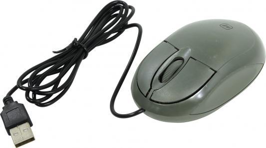 Мышь проводная DEFENDER MS-900 серый USB