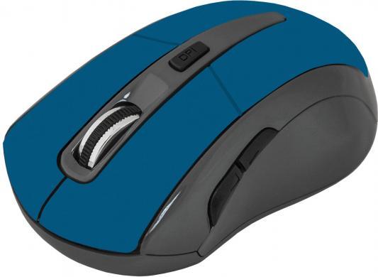Фото - Мышь беспроводная Defender Accura MM-965 синий USB беспроводная bluetooth колонка edifier m33bt