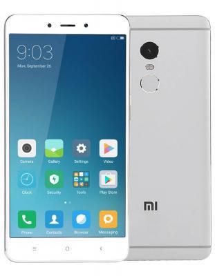 Смартфон Xiaomi Redmi Note 4 серый 5.5 64 Гб LTE Wi-Fi GPS 3G REDMINOTE4GR64GB смартфон meizu m5 note белый золотистый 5 5 16 гб lte wi fi gps 3g
