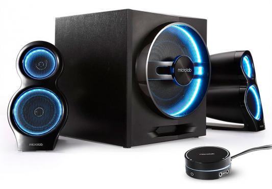 Колонки Microlab T10 56Вт черный Bluetooth