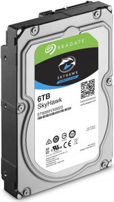 "Жесткий диск 3.5"" 6 Tb 7200rpm 256Mb cache Seagate SkyHawk SATAIII ST6000VX0023"