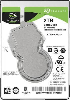 "Жесткий диск для ноутбука 2.5"" 2Tb 5400rpm 128Mb cache Seagate Barracuda SATAIII ST2000LM015"