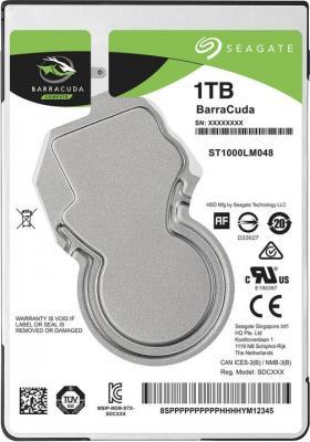 "Жесткий диск для ноутбука 2.5"" 1Tb 5400rpm 128Mb cache Seagate Barracuda SATAIII ST1000LM048"