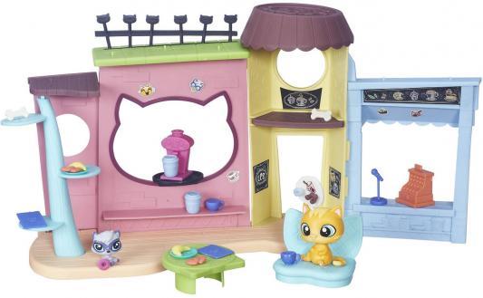Игровой набор HASBRO Littlest Pet Shop Кафе B5479 hasbro littlest pet shop b6625 литлс пет шоп набор зверюшек малышей