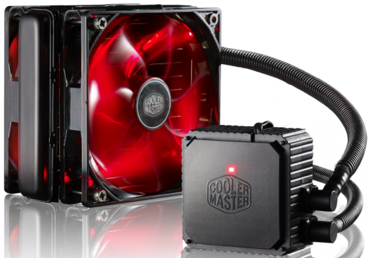 Водяное охлаждение Cooler Master Seidon 120V ver.3+ RL-S12V-22PR-R1 Socket 2011-v3/2011/1366/1151/1150/1156/1155/775/FM2+/FM2/FM1/AM3+/AM3/AM2+/AM2 golf 3 td 2011