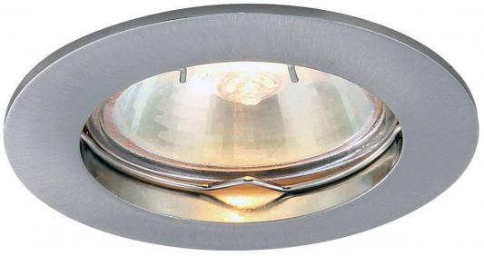 Встраиваемый светильник Arte Lamp Basic A2103PL-1SS торшер 43 a2054pn 1ss arte lamp 1176958