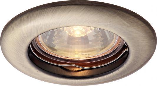 Встраиваемый светильник Arte Lamp Praktisch A1203PL-1AB цена 2016