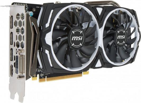 Видеокарта 8192Mb MSI RX 470 ARMOR 8G OC PCI-E DVI HDMI DP HDCP Retail