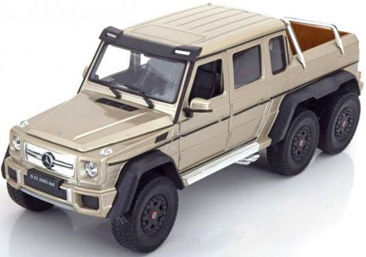 Автомобиль Welly Mercedes-Benz G63 AMG 6x6 1:24 24061W автомобиль welly aston martin vanquish 1 24 бордовый 24046