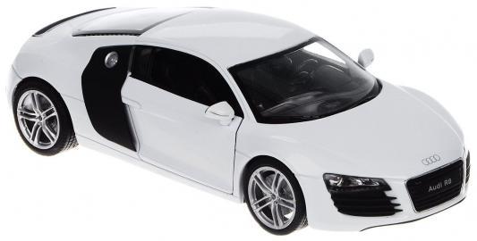 Автомобиль Welly Audi R8 V10 1:24 белый 24065