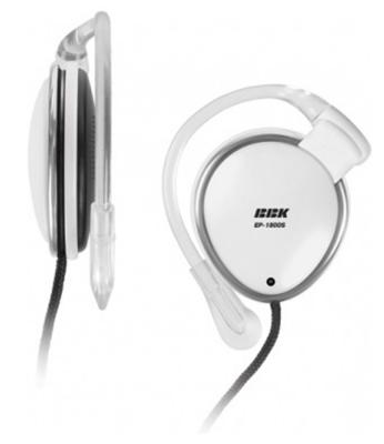 Наушники BBK EP-1800S белый наушники bbk ep 1800s белый