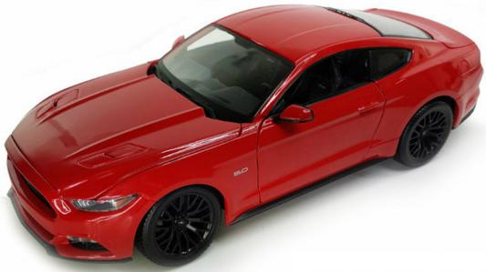 Автомобиль Welly Ford Mustang GT 1:24 24062 автомобиль welly audi r8 v10 1 24 белый 24065