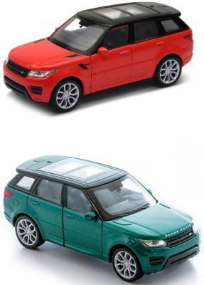 Автомобиль Welly Land Rover Range Rover Sport 1:34-39 цвет в ассортименте welly модель машины 1 33 land rover range 39882 синий