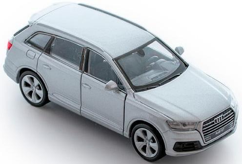 Автомобиль Welly Audi Q7 1:34-39 цвет в ассортименте welly модель машины 1 34 39 audi r8 welly