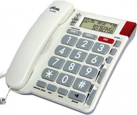 Телефон Ritmix RT-570 ivory телефон ritmix rt 003 черный