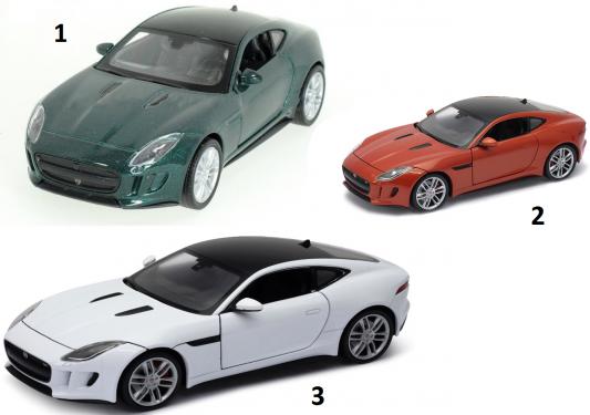 Автомобиль Welly Jaguar F-Type Coupe 1:34-39 цвет в ассортименте