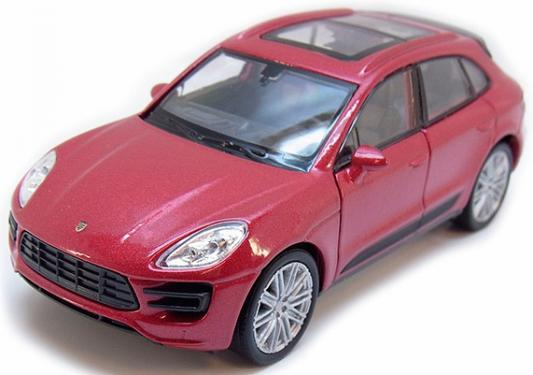 "Автомобиль Welly ""Porsche Macan Turbo"" 1:34-39"