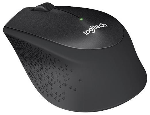 Мышь беспроводная Logitech M330 Silent Plus чёрный USB 910-004909