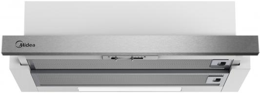 Вытяжка встраиваемая Midea E60MEB0V02 серебристый