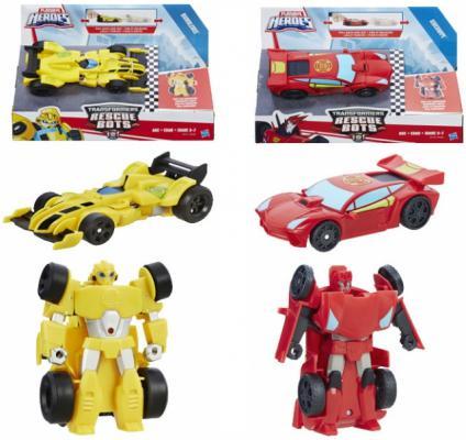 Игровой набор Hasbro Playskool Heroes ТРАНСФОРМЕРЫ СПАСАТЕЛИ: Гоночные машинки