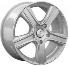 Диск Replay SK102 6.5xR16 5x112 мм ET50 Silver replay sk15 6 5x16 5x112 d57 1 et50 s
