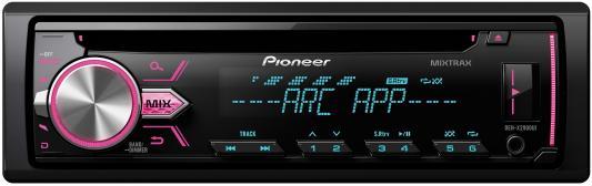 Автомагнитола Pioneer DEH-X2900UI USB MP3 CD FM RDS 1DIN 4x50Вт черный