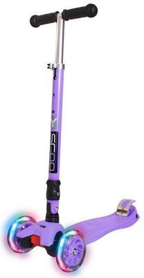 Самокат Y-SCOO 35 MAXI FIX Shine фиолетовый