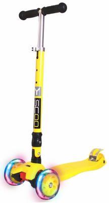 Самокат Y-SCOO 35 MAXI FIX Shine желтый
