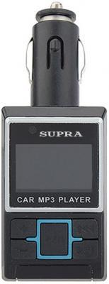 FM трансмиттер Supra SFM-23U черный