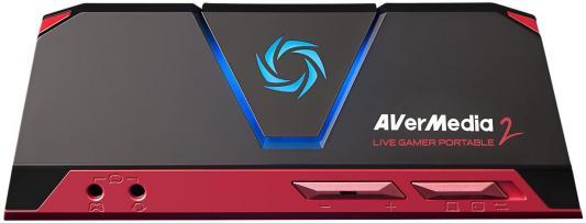 Карта видеонаблюдения внешний Avermedia Live Gamer Portable 2 HDMI устройство видеозахвата avermedia technologies game capture hd ii