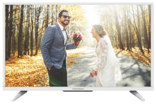 Телевизор Thomson T32D16DH-01W белый телевизор 43 thomson t43d19sfs 01w