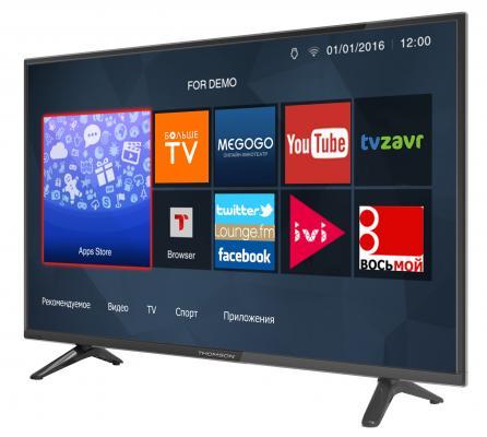 Телевизор Thomson T32D19DHS-01B черный от 123.ru