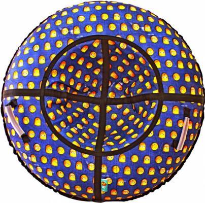 Тюбинг RT Симпсоны до 120 кг синий ПВХ диаметр 118 см тюбинг rt практик 118 см синий голубой до 120 кг пвх
