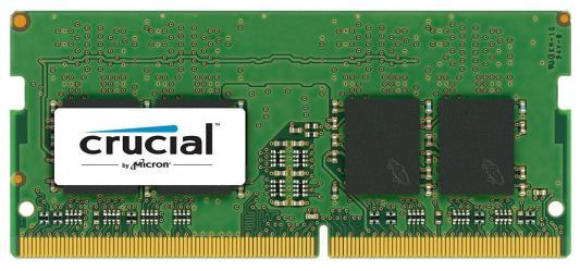 Оперативная память для ноутбуков SO-DDR4 16Gb PC4-19200 2400MHz Crucial CT16G4SFD824A оперативная память для ноутбуков so ddr4 8gb pc4 19200 2400mhz crucial ct8g4sfd824a