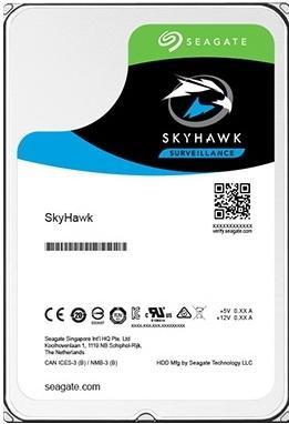 Жесткий диск 3.5 2 Tb 5900rpm 64Mb cache Seagate SkyHawk SATAIII ST2000VX008 жесткий диск 3 5 10tb 7200rpm seagate sataiii st10000nm0016