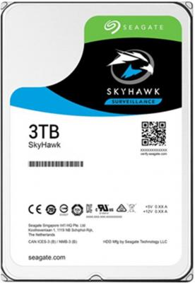 "Жесткий диск 3.5"" 3 Tb 64Mb cache Seagate SkyHawk SATAIII ST3000VX010"
