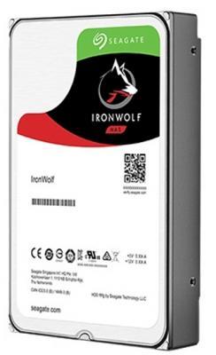 Жесткий диск 3.5 4Tb 5900rpm Seagate IronWolf SATAIII ST4000VN008 жесткий диск 3 5 3tb 5900rpm seagate ironwolf sataiii st3000vn007