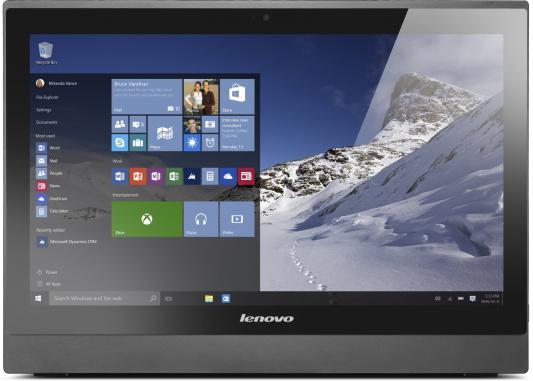 "Моноблок 21.5"" Lenovo IdeaCentre S400z 1920 x 1080 Intel Core i3-6100U 4Gb 500Gb Intel HD Graphics 520 64 Мб Windows 10 Home черный 10HB003BRU"