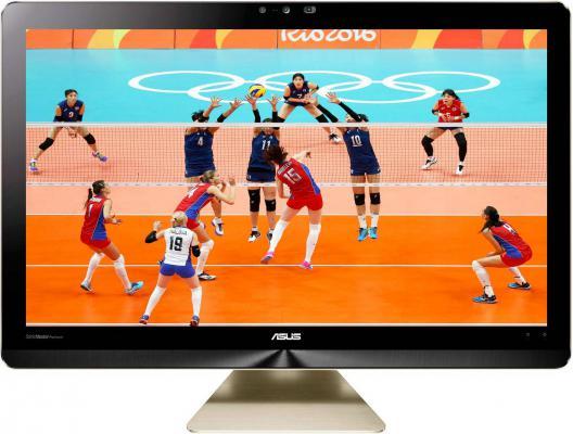 "Моноблок 21.5"" ASUS Zen AiO Pro Z220IC 1920 x 1080 Intel Core i5-6400T 8Gb 1Tb + 128 SSD nVidia GeForce GTX 960M 2048 Мб Windows 10 Home золотистый 90PT01D1-M02240"